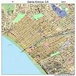 Santa Monica California Street Map 0670000