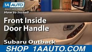 2008 Subaru Forester Driver Door Latch Repair Diagram