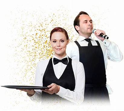 Singing Waiters Waiter Today Performers