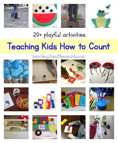 ways  teach counting  preschoolers numbers