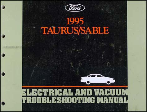 ford taurus mercury sable electrical troubleshooting