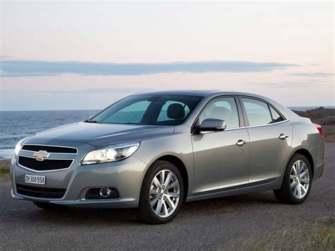 2018 Chevrolet Malibu Pictures Information And Specs