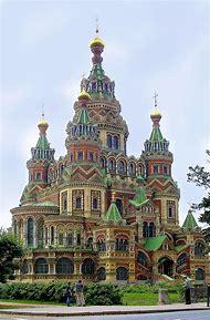 St. Petersburg Russia Blood Church
