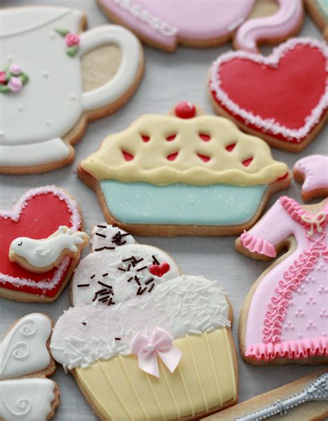 High Tea Party Decorated Cookies Sweetopia