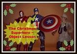 Christmas Superhero Object Lesson on Salvation ...