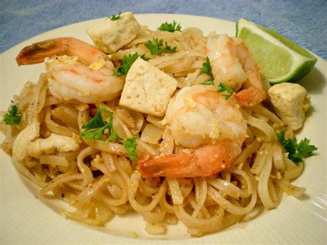 cuisine thaï random cuisine shrimp pad