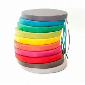 Galettes De Chaises Gifi : galette de chaise grise galette de chaise coton rayures ~ Dailycaller-alerts.com Idées de Décoration