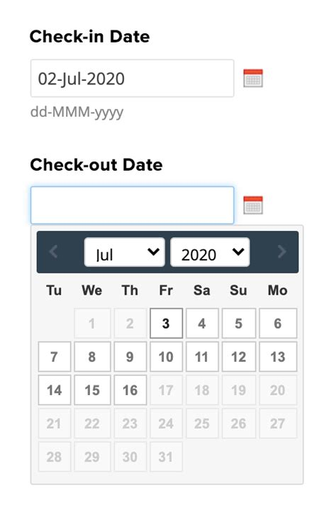Date Field | Zoho Forms - User Guide
