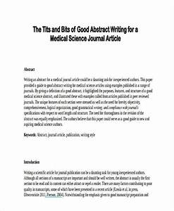 Abstract Essay Example Essay Of Leadership Free Essay Sample Papers  Abstract Of Journal Article Example