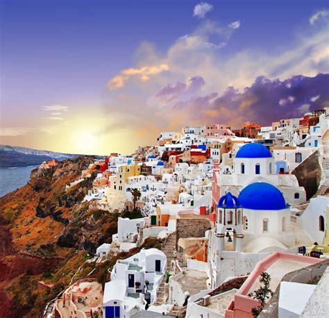 Santorini Greece Unreal Travel Destinations Popsugar