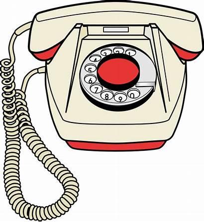 Telephone Clip Clipart Illustration Phone Cliparts Transparent