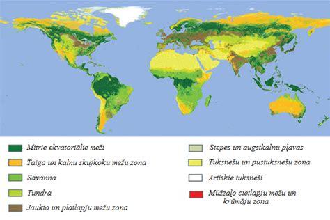 Ģeogrāfiskās dabas ainavas — teorija. Ģeogrāfija, 7. klase.