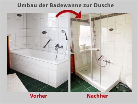 Duschen In Badewanne by Wanne Zur Dusche Badbarrierefrei Schweiz