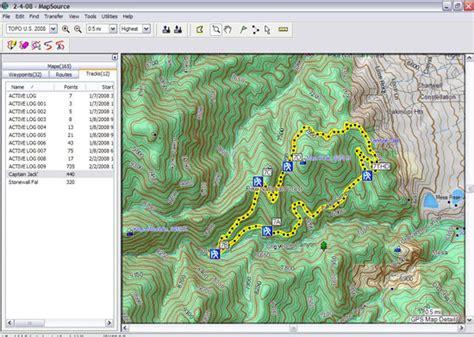 garmin mapsource review singletracks mountain bike news