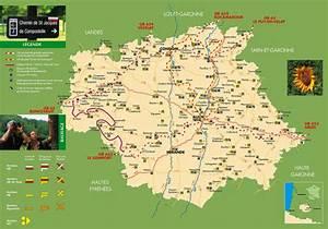 Carte Du Gers Détaillée : carte du gers 32 r gion midi pyr n es languedoc roussillon ~ Maxctalentgroup.com Avis de Voitures