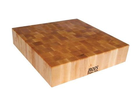 John Boos Maple Butcher Block 24 x 24 x 6 ? ChoppingBlocks.com