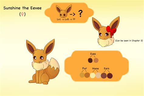 Sunshine The Eevee By Pkm-150 On Deviantart