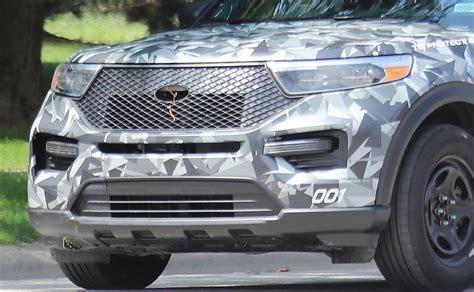 ford explorer breaks cover  pursuit vehicle