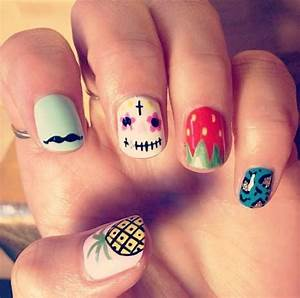 Creative nail design owner : Best images about really cute nail designs on