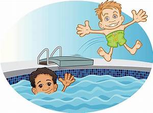 Swimming With Friends Clipart & Swimming With Friends Clip ...