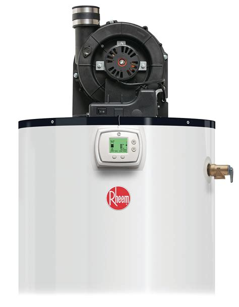 rheem power vent water heater lcd display builder magazine
