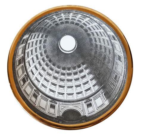 Cupola Pantheon by Piero Fornasetti Piatto Cupola Pantheon A Roma Mizar
