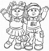 Cabbage Coloring Patch Colouring Dolls Printable Kid Children Boy Printables Child Childrens sketch template