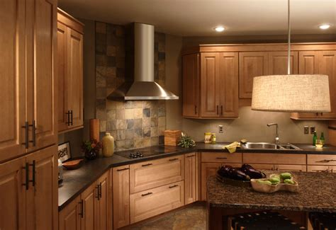 elevated kitchen designs raised panel maple door traditional kitchen 3550