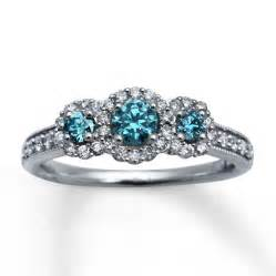 engagement rings with blue blue engagement rings blue engagement ring viewing gallery diamantbilds