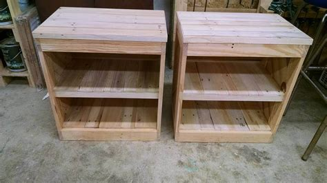 Diy Pallet Nightstand Or Side Table Diy Chess Board Kit Hd On Dish Network Clear Bra Car Frosted Glass Cabinet Doors Rickets Reef Led Light Fixture Valentine Gifts For Friends Best S Day Him Dresser Drawer Liners