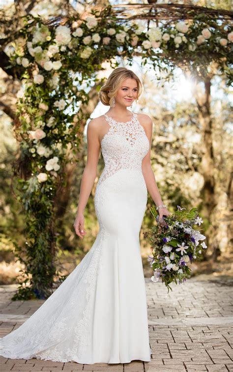 Lace Wedding Dresses Unique Lace Wedding Gown Essense
