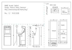mame arcade cabinet plans pdf diy cabinet plans arcade cabinet makers bench
