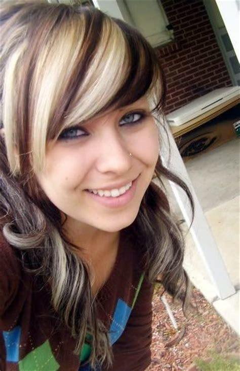 Best 25 Blonde Streaks Ideas On Pinterest Hair Melt