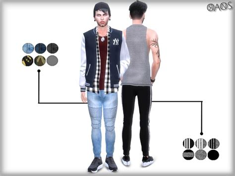 Joggers By Oranostr At Tsr » Sims 4 Updates