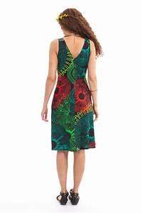 robe d ete a larges bretelles noire et verte chic et With robe d été noire à bretelles