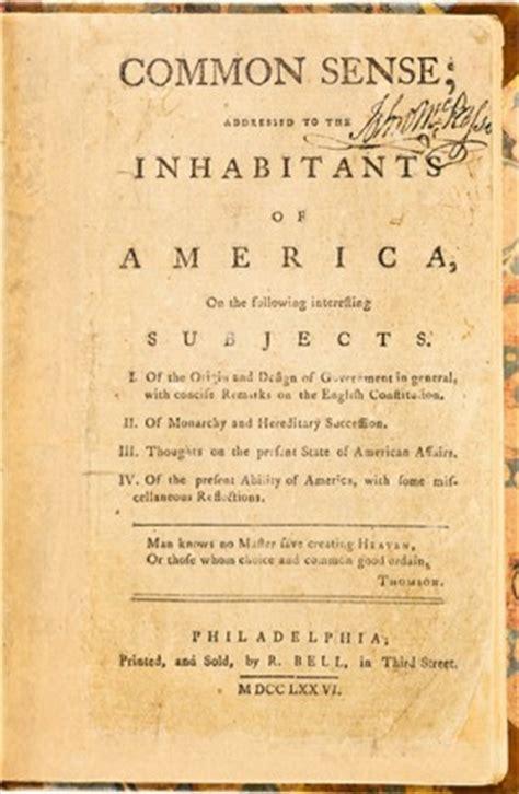 Thomas Paine Common Sense Quotes Quotesgram
