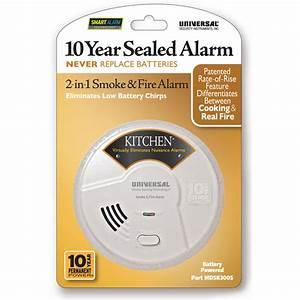 Usi 10 Year Tamper Proof Sealed Battery Smoke  U0026 Fire Smart