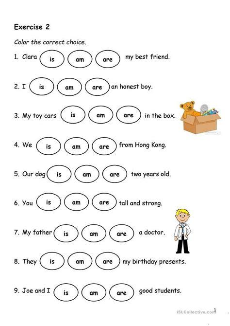 present simple verb   english esl worksheets