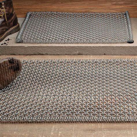 Steel Doormat by Galvanized Coil Steel Mud Mats Garrett Wade