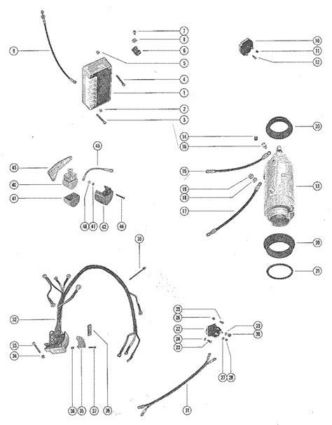 Mercury 650 Wiring Diagram by Mercury Marine 650 3 Cylinder Starter Motor Starter