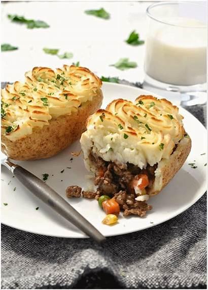 Potato Pie Skins Baked Potatoes Recipes Recipe