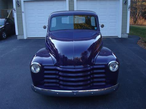 custom truck sales purple beast 1948 chevrolet pickups 3100 custom truck for sale