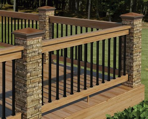 decor tips cool exterior design  deck railing