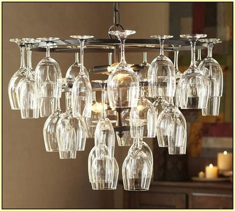 wine glass chandelier frame home design ideas