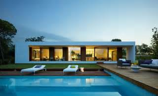 Smart Placement Villa Plans Ideas by Modern Plan Single Storey House Contemporary Outdoor