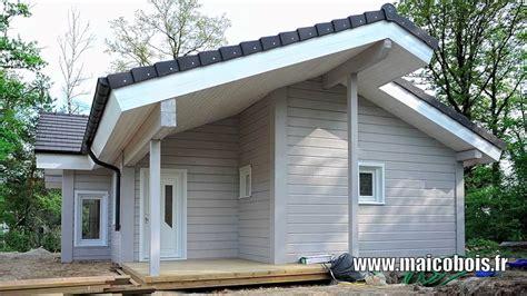 maicobois constructeur de maisons madriers bois massif de finlande fin de montage du mod 232 le mh