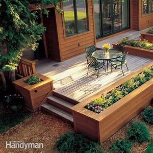 Built In Planters - DIY Ideas and Projects The Garden Glove