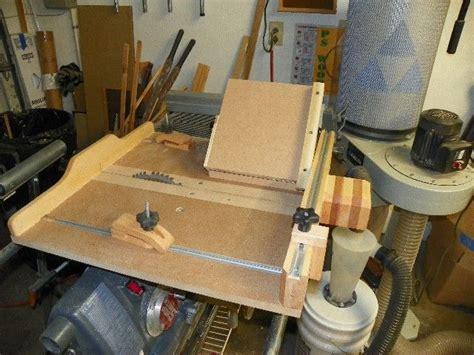 adjustable jig   crosscut sled shopsmith woodworking
