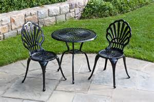 patios decor with metal garden furniture sets motiq home decorating ideas