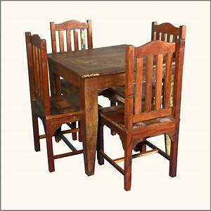 Reclaimed wood dining table and chairs marceladickcom for Dining chairs for reclaimed wood table